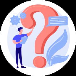 Vragen/blog icon